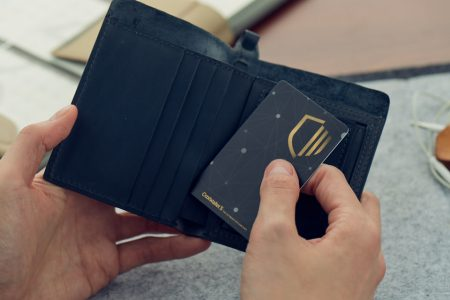CoolWallet S Hardware Anonymous Cold Storage